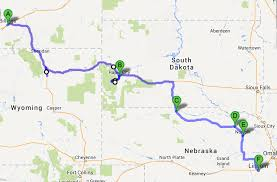 Mt Rushmore Map Nebraska Road Trip Follow Woody Grant U0027s Route Garrett On The Road