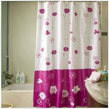 Shower Curtains Purple 100 Purple Flower Curtains White Pink Flower Beautiful