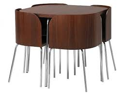 Round Tables For Kitchen by Fold Away Dinner Table Nanobuffet Com