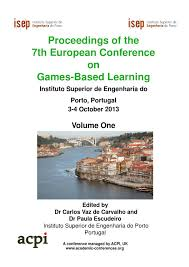 proceedings fo the 7th european conference on games based learning