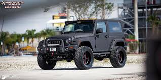 jeep rims black jeep wrangler fuel forged ff20 wheels matte black matte