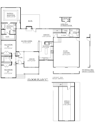 Home Floor Plans 6 Bedrooms Southern Heritage Home Designs House Plan 1974 C The Marion C