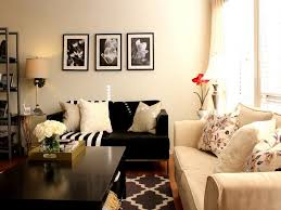Adorable  Living Room Designs Black And Cream Inspiration - Cream color living room