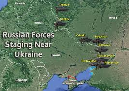 maps crimea russia russian forces staging near ukraine