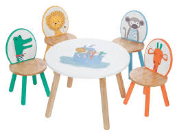 kids animal table and chairs animal themed round play table and chair sets childrens on dining
