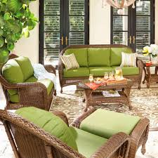 willowbrook deep seating wicker collection patio furniture outdoor