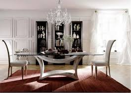 Modern Dining Room Table CoolBoom - Glass dining room furniture