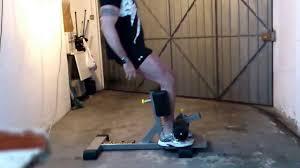 Sissy Squat Bench Sissy Squat 1 Youtube