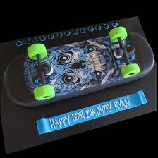 skateboard cake skull grafitti design that u0027s my cake