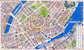 Map Of Denmark Copenhagen Map Virtual Interactive 3d Of Denmark Entrancing Aerial