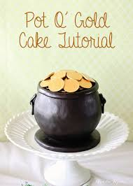pot o u0027 gold cake tutorial ashlee marie