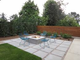 large concrete pavers landscape contemporary with outdoor lighting