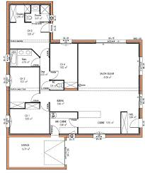 plan plain pied 4 chambres plan maison plain pied 4 chambres gratuit fabulous plan maison