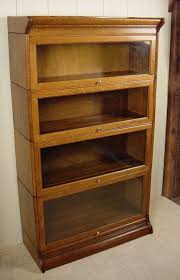 old glass doors bookcase with glass doors and lock glass door bookcase style