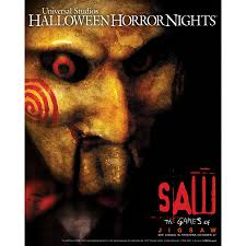 halloween horror nights commercial lionsgate u0027s horror blockbuster franchise u0027saw u0027 sets the ultimate