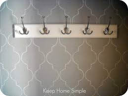 keep home simple new and improved hallway closet