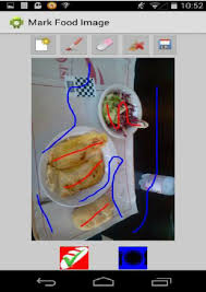 appli cuisine android the android application designed for food detection