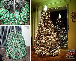 18 clever christmas trees created with recycled materials webecoist