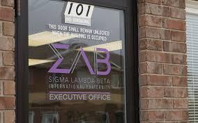 executive office executive office sigma lambda beta