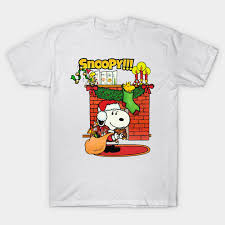 snoopy christmas t shirts snoopy christmas snoopy t shirt teepublic