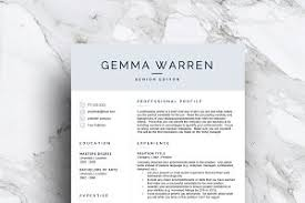 Template For Resume Resume Template Cv 1 2 3 Page Resume Templates Creative