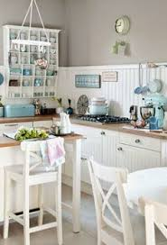 Mismatched Kitchen Cabinets Decorating With Twinkle Lights Mismatched Chairs Open Shelves