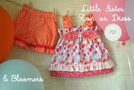 top or dress and bloomers baby toddler