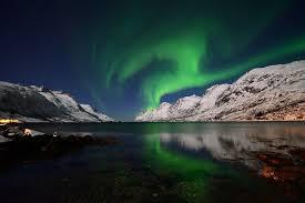 sky outdoors landscape artic boreale lights northern