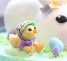 Easter Chicks Cake Decorations by Easter Bunny Cream Cheese Pound Cake Made With Pink