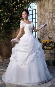 princess style wedding dresses white organza princess style formal wedding dress size 4 s tradesy