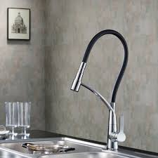 mirabelle kitchen faucets kpf pull kitchen faucet set kraususa carboflex waterfall
