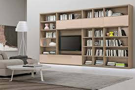Modern Living Room Wall Units With Storage Inspiration - Design wall units