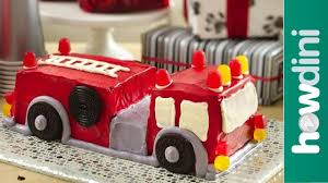 childrens monster truck videos cakes birthday cake ideas how to make a fire truck birthday cake youtube