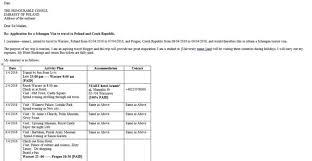 sample cover letter for visitor visa affidavit of support letter