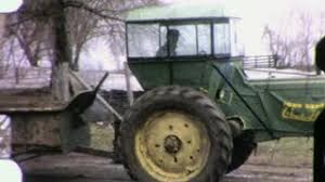 Barn Movie Farmer Harvests Corn Silo Barn 1950s Vintage Retro Film Home Movie