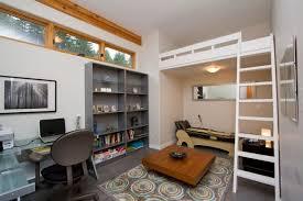 amenagement bureau domicile maison lit mezzanine adulte chambre salon bureau domicile lit