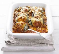 cuisine aubergine aubergine rolls with spinach ricotta recipe food