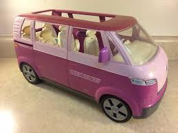volkswagen barbie 2002 mattel barbie vw volkswagen van minibus 18 common shopping