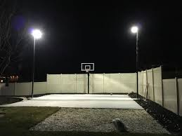 basketball courts with lights near me outdoor basketball court with 20 11 gauge rab poles and 400 mega