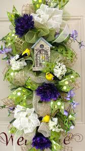 Pinterest Com Home Decor 281 Best Spring Wreaths Images On Pinterest Flower Arrangements