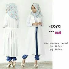 Grosir Gamis Zoya Murah grosir baju muslim zoya vest grosir baju muslim pakaian
