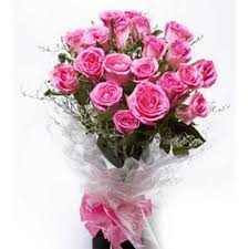 pink bouquet bouquet of one dozen stemmed pink roses pasay flora