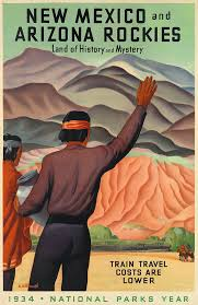 Arizona travel posters images Art artists vintage travel posters part 2 jpg