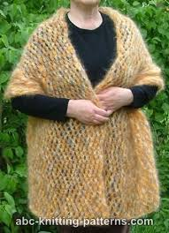 knitting pattern for angora scarf knitting patterns galore cozy mohair wrap