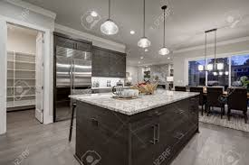 light gray kitchen cabinets with granite modern open plan gray kitchen features gray cabinets paired