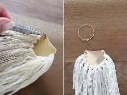 earrings diy diy brass fringe earrings