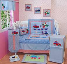 Helicopter Crib Bedding Cars Helicopter 100 Cotton 5 Crib Bedding Set