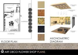 art deco flower shop architectural interior 2 by bitoyski on