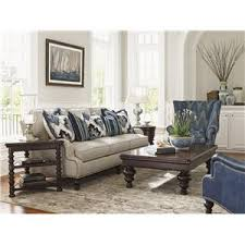 Tommy Bahama Leather Sofa by Tommy Bahama Home Living Room Groups Ft Lauderdale Ft Myers