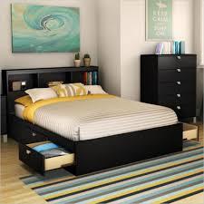 Solid Bed Frame King Living Room Bedroom Wooden Bed Base White Wooden Bed